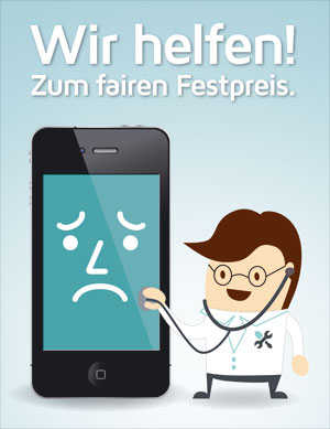 Smartphone Reparatur bei iRepair IT