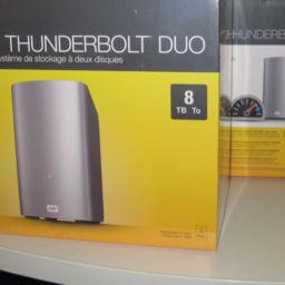 My Book Thunderbolt Duo