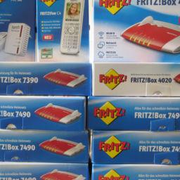 Fritz!Box Router installieren