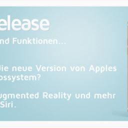iOS 11 für iPad und iPhone jetzt verfügbar