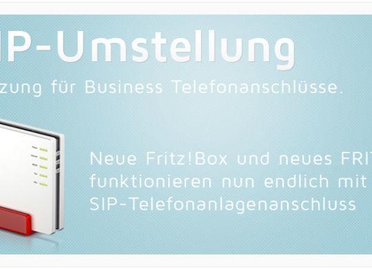 Fritz!Box - All-IP-Umstellung: Unterstützung für Business-Telefonanschlüsse