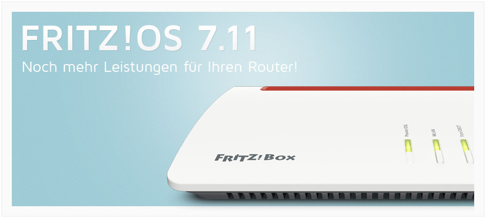 Fritz!Router - Fritz!OS 7.11